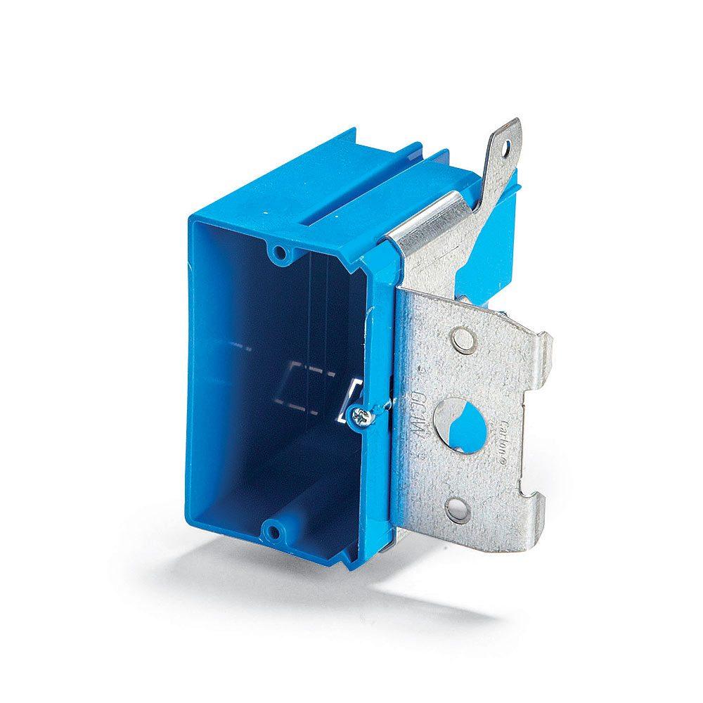 Adjustable-Depth Electrical Box