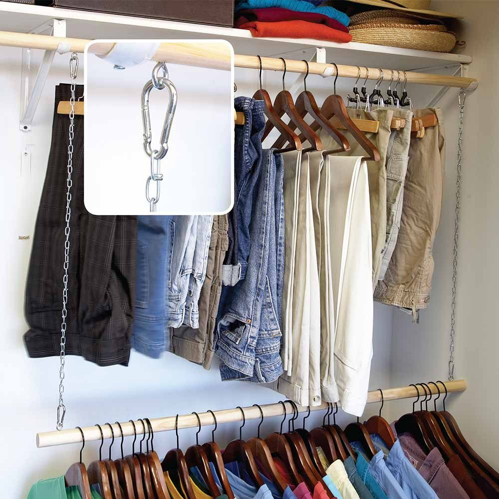 Easy Ways To Expand Your Closet Space The Family Handyman
