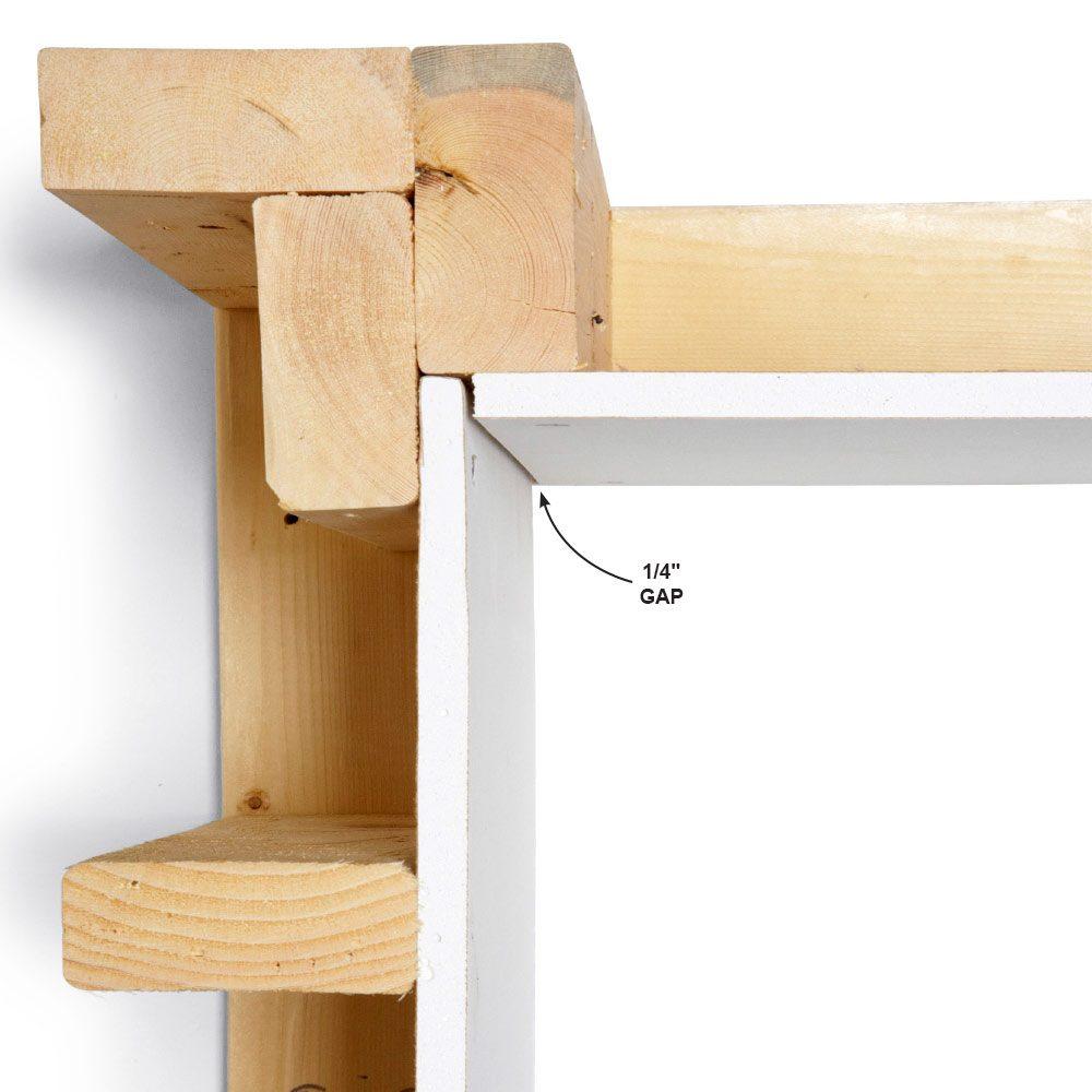 Inside Corners: Measure Exact, then Subtract