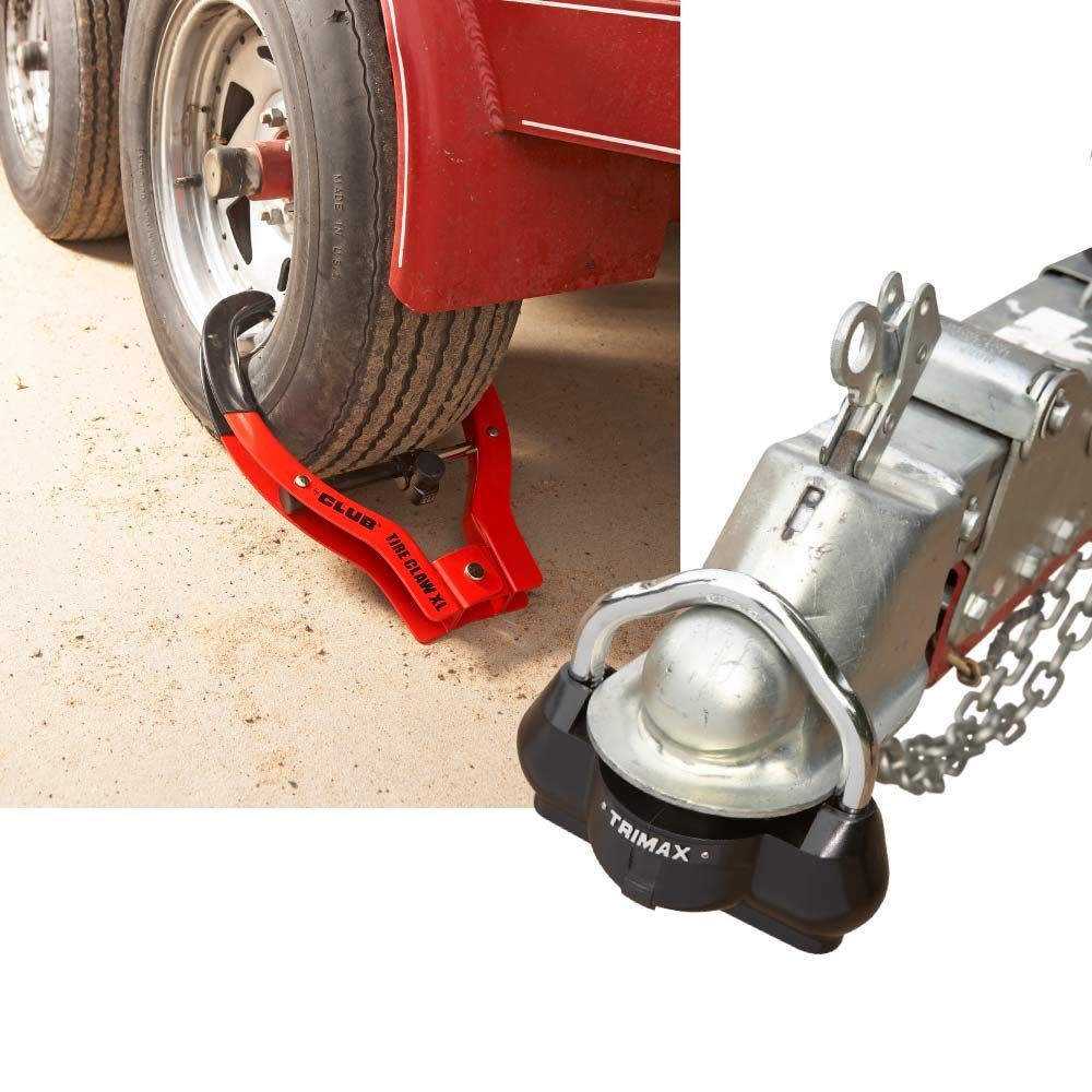 Two Ways to Keep Your Trailer Safe