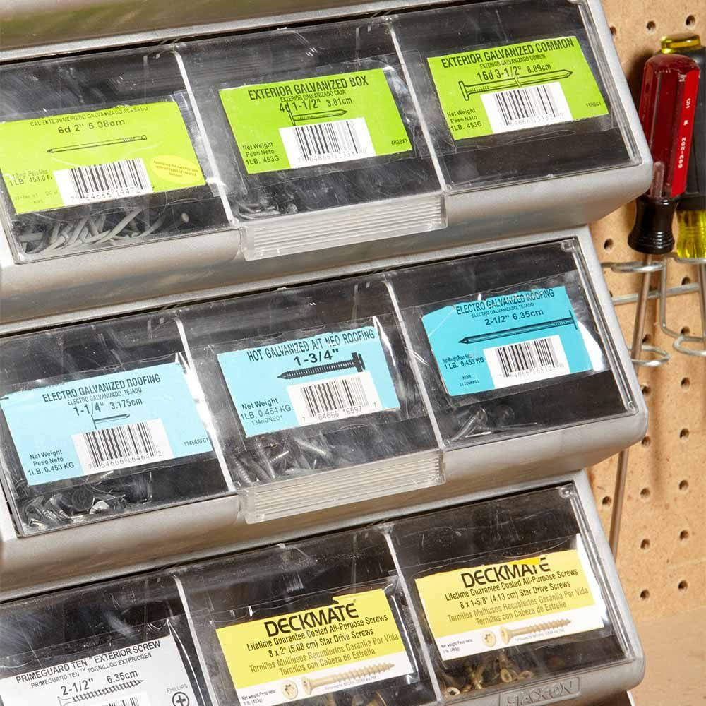 Label Ideas: 12 Tips For Organizing With A Label System
