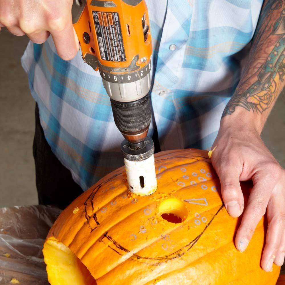 Use a Hole Saw