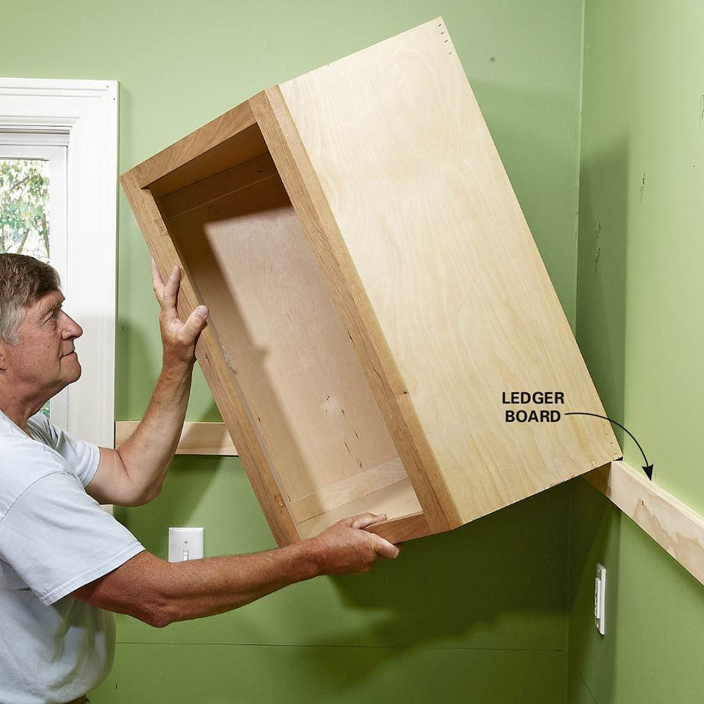 diy kitchen cabinets building a kitchen cabinet Install Cabinets Like a Pro