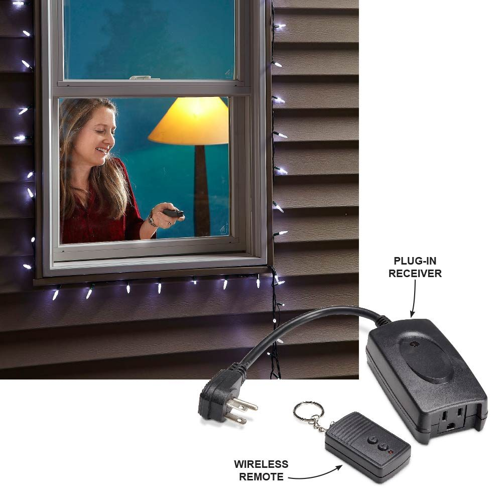 Easy Outdoor Light Control