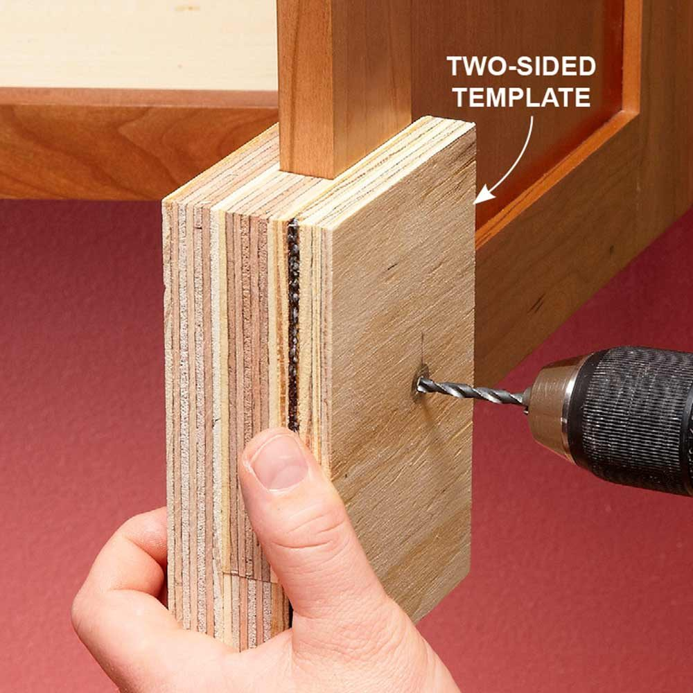 Two-Sided Templates Prevent Tear-Out