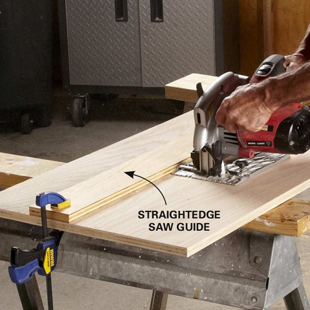 Make Table Saw-Quality Rips With a Circular Saw