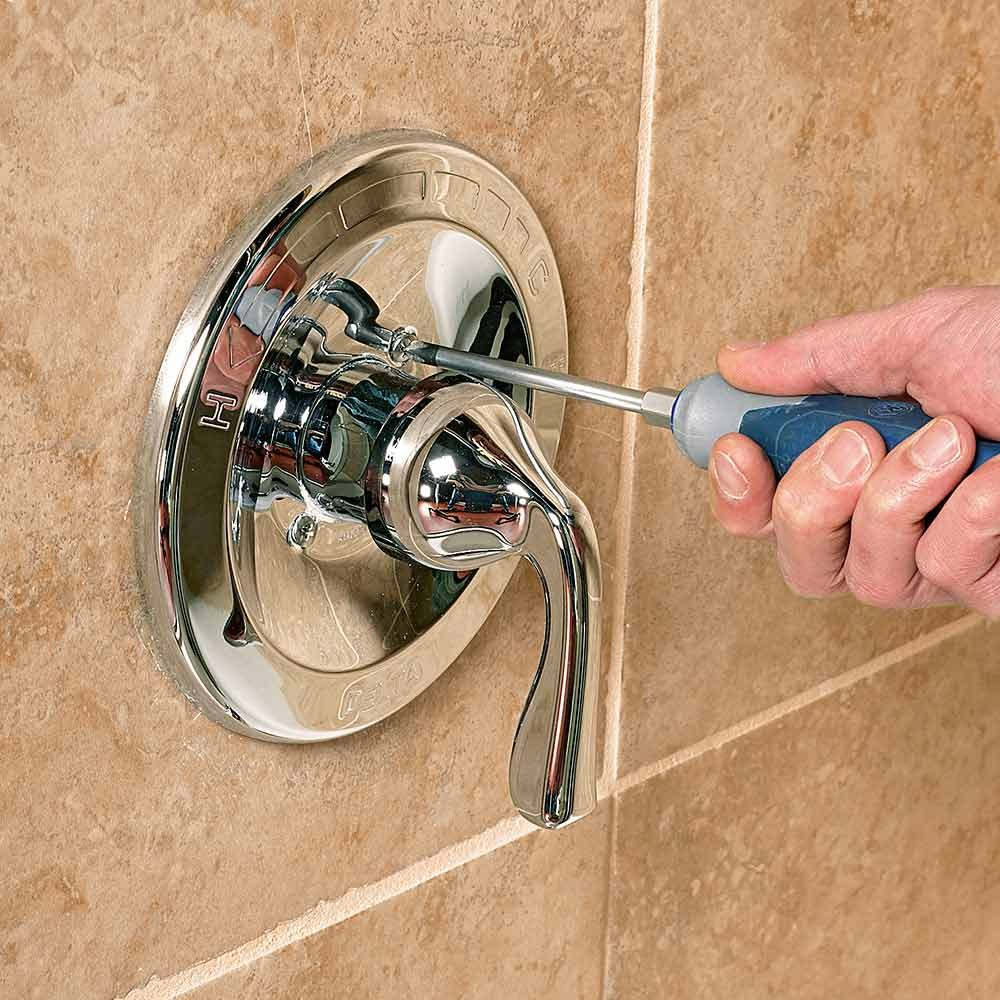 Install a New Tub and Shower Trim Kit
