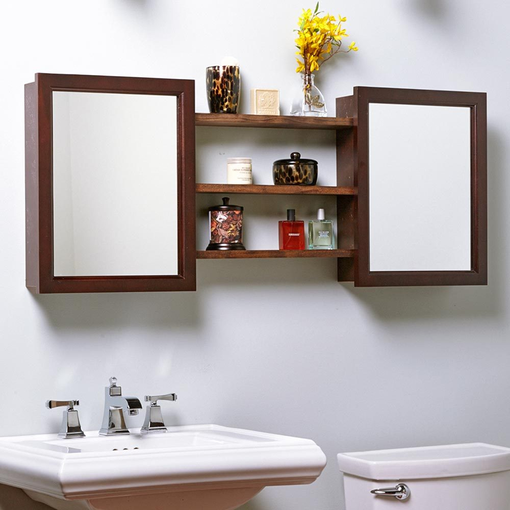 Add a Second Medicine Cabinet and Shelves