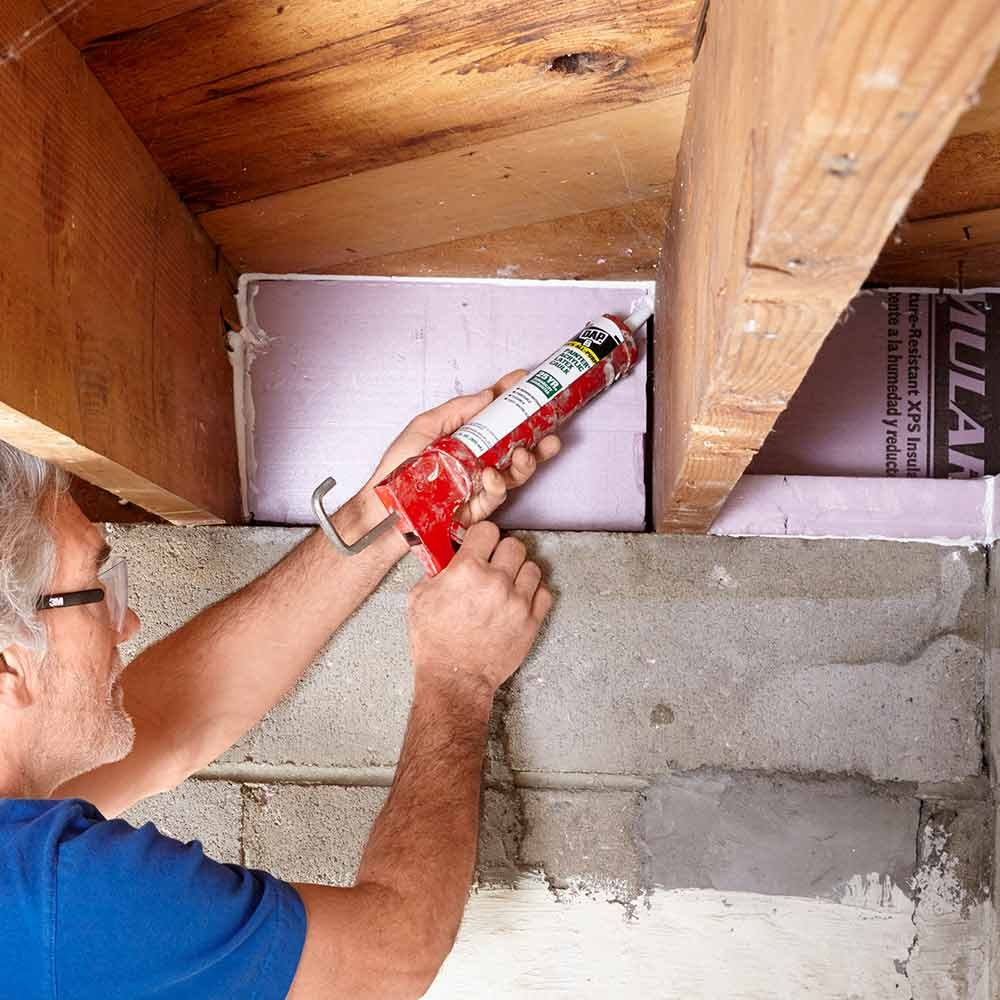 Basement finishing tips the family handyman for Basement insulation wrap