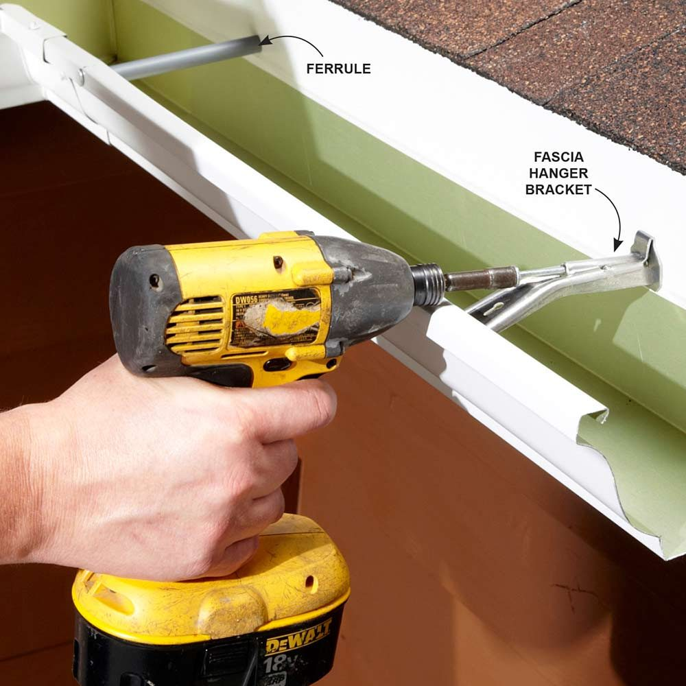 Easy Gutter Fixes The Family Handyman