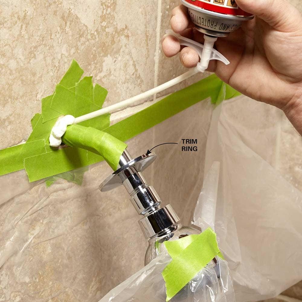 Foam a Loose Showerhead