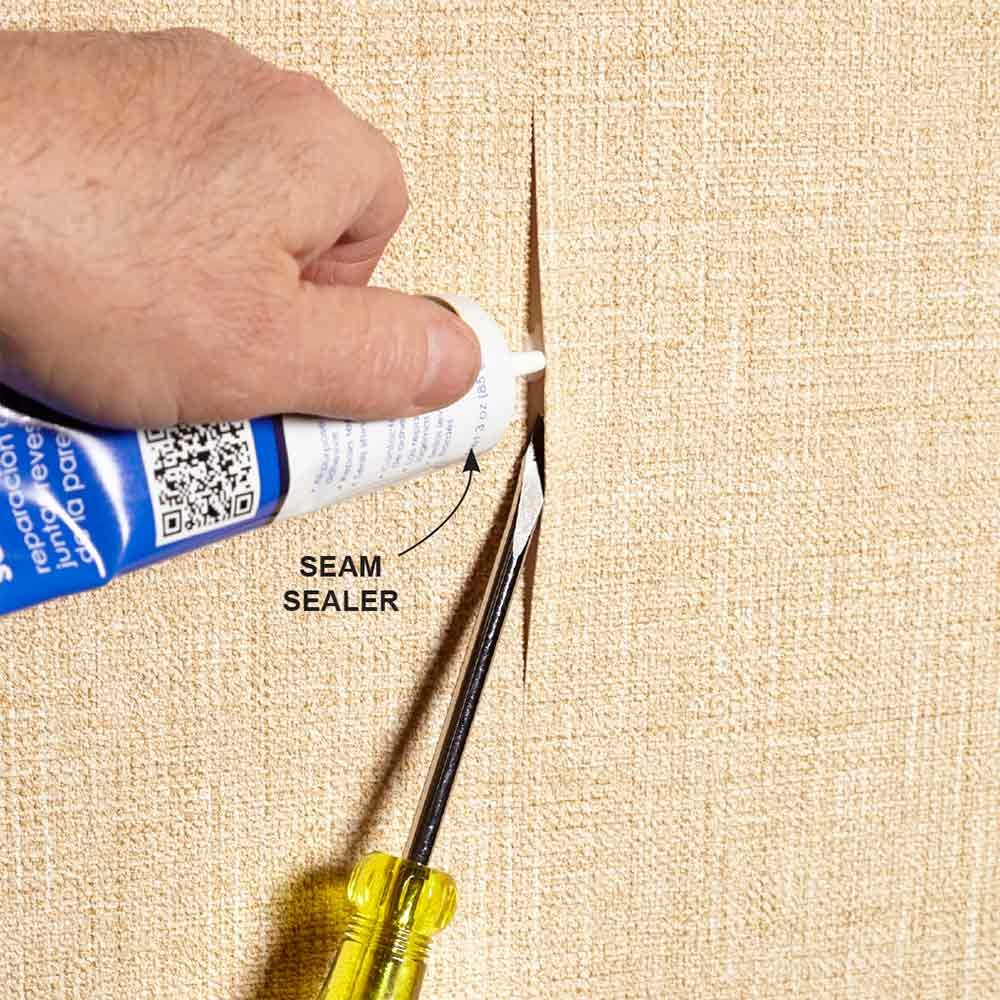 Fix a Wallpaper Seam