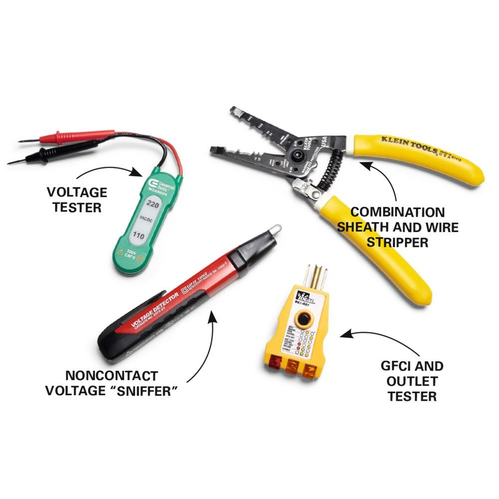 Use Four Key Tools for Safe and Fast Wiring