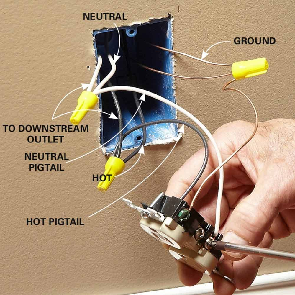 wiring outlets and switches the safe and easy way the what is hot and neutral in wiring what is hot wiring eps surfboard blank