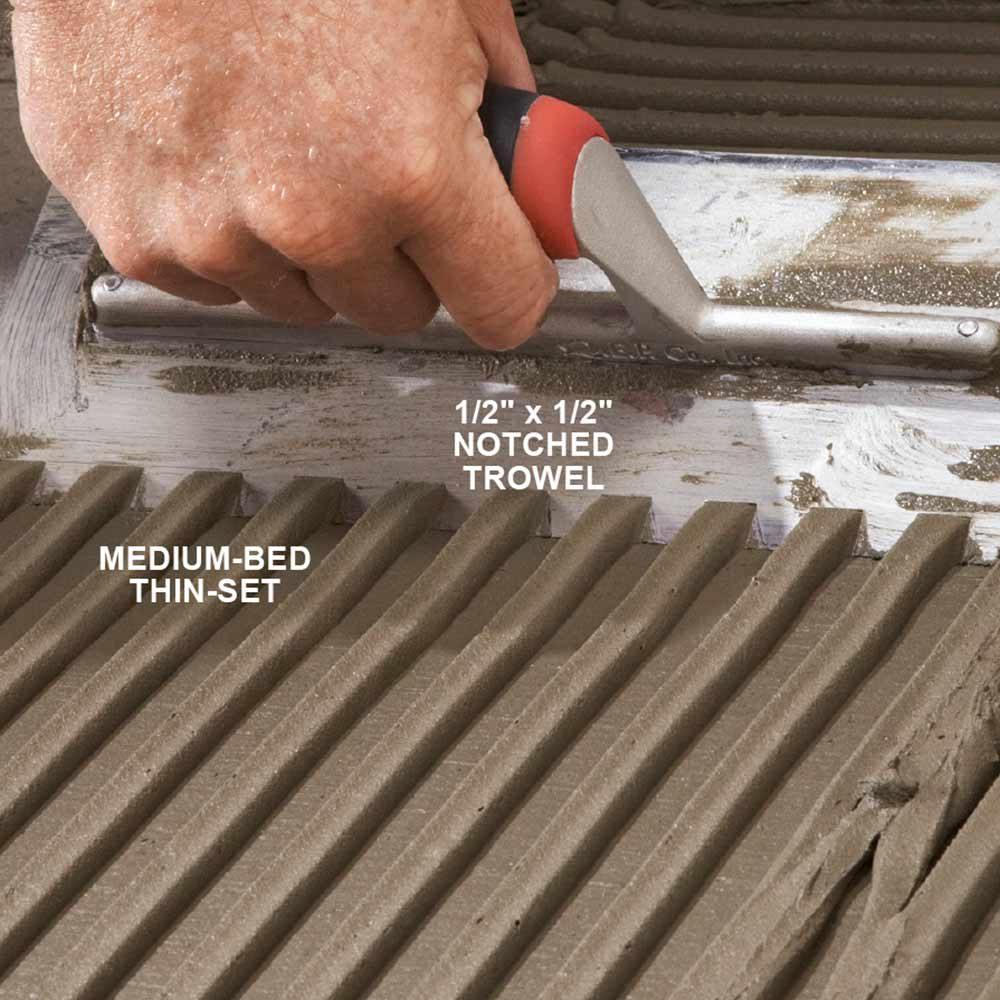 Modern Tile Installation Tips The Family Handyman