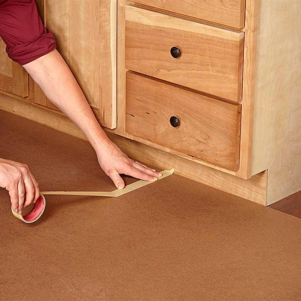 Protect Finished Flooring with Hardboard