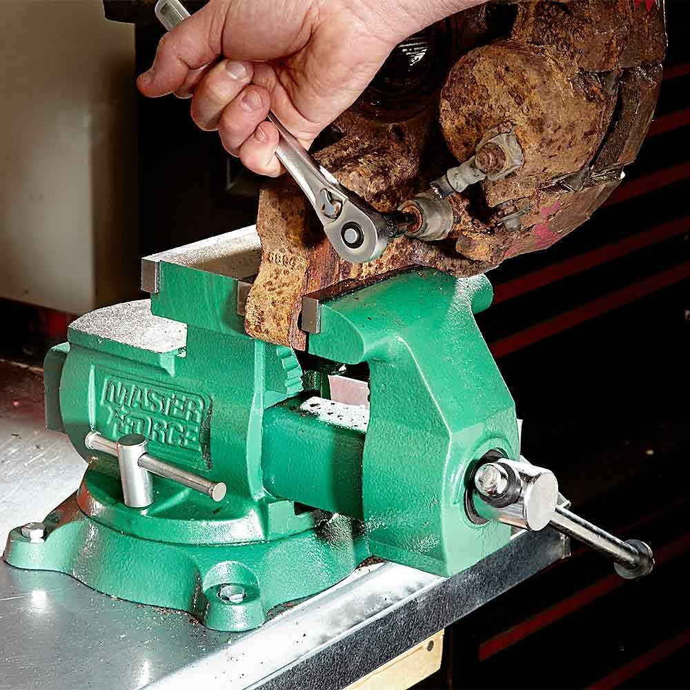 Get a Beefy Bench Vise