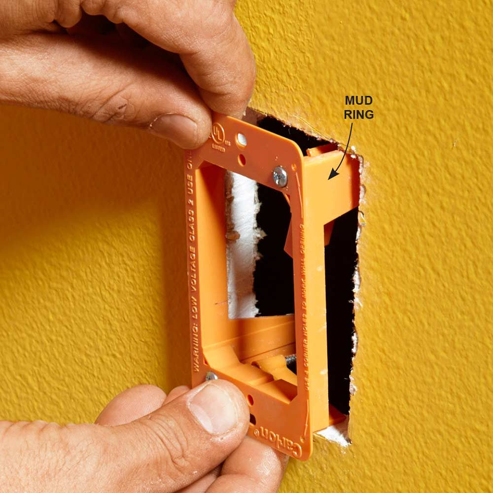 Wiring Coaxial Wall Plate