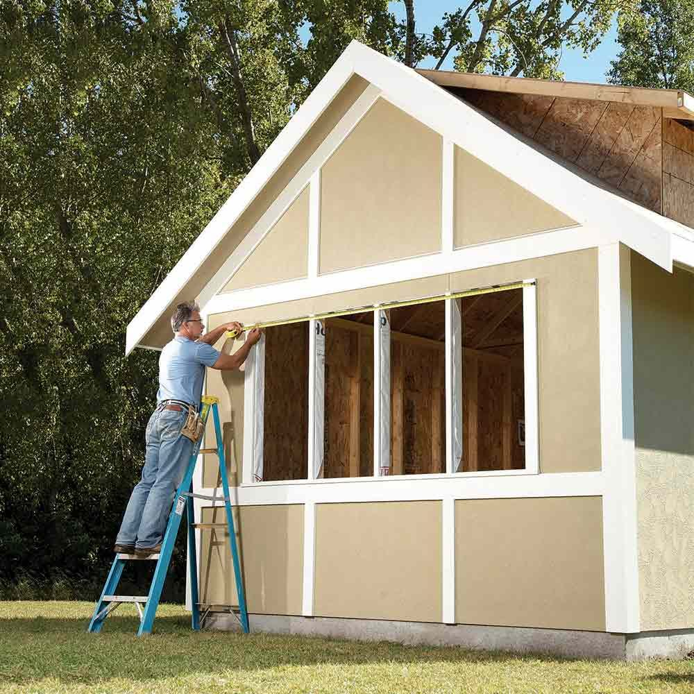 Diy storage shed building tips the family handyman for Family home storage