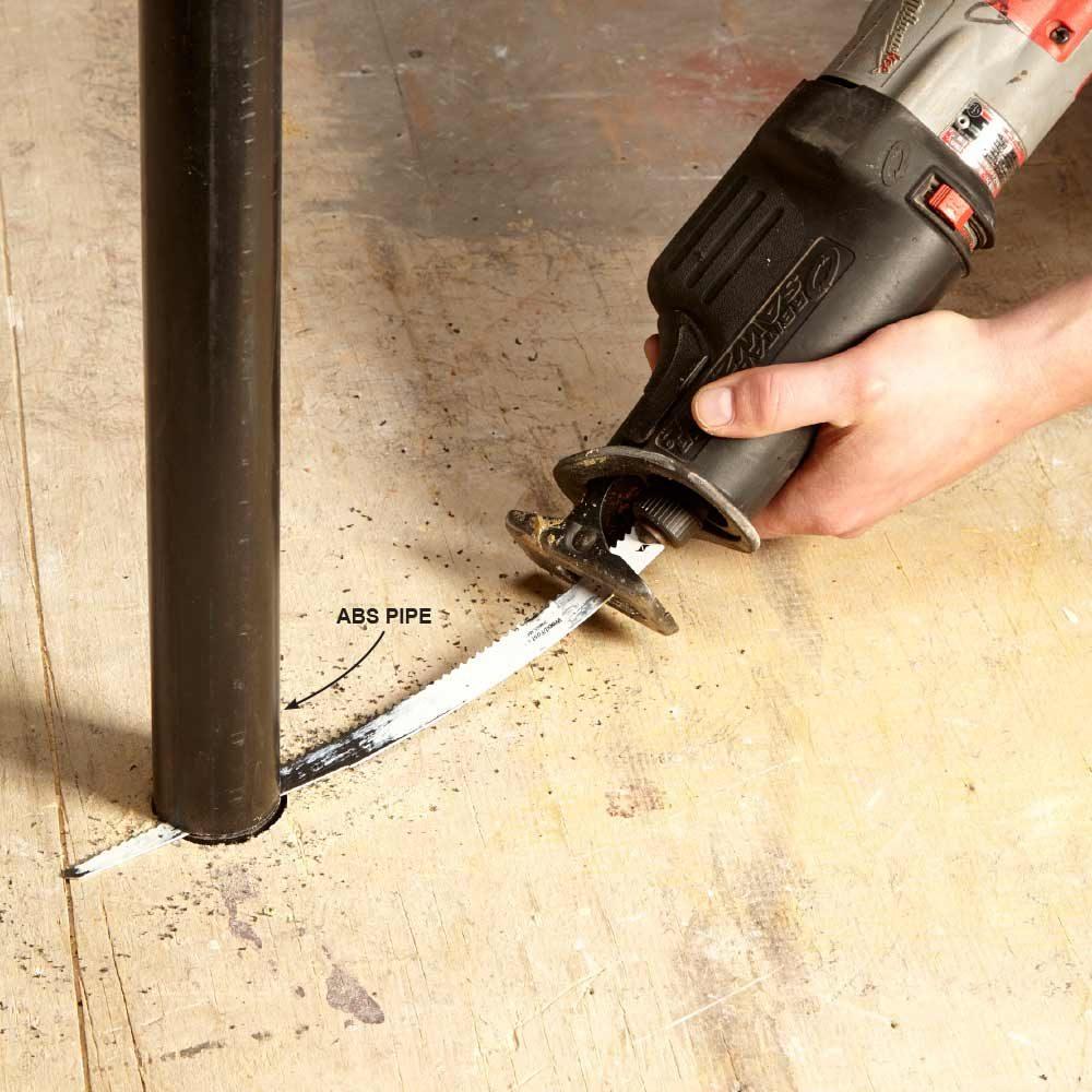 Bend Longer Blades to Cut Flush