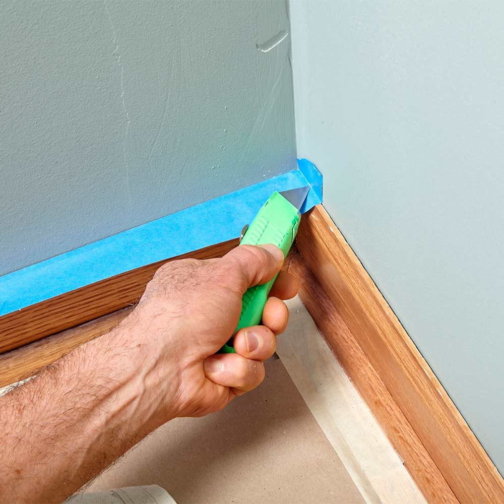 How to Apply Painter's Tape in a Corner