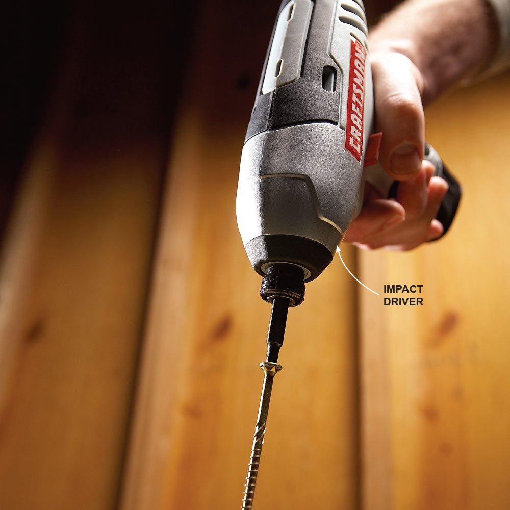 Get a Cordless Impact Driver