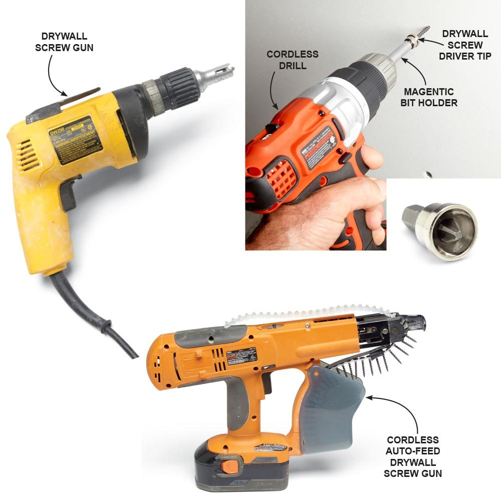 Install Drywall with Special Tools