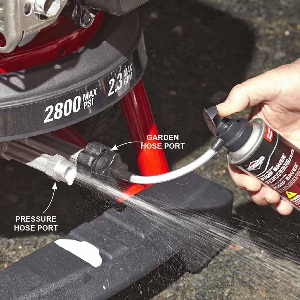 Make Your Pressure Washer Pump Last Longer