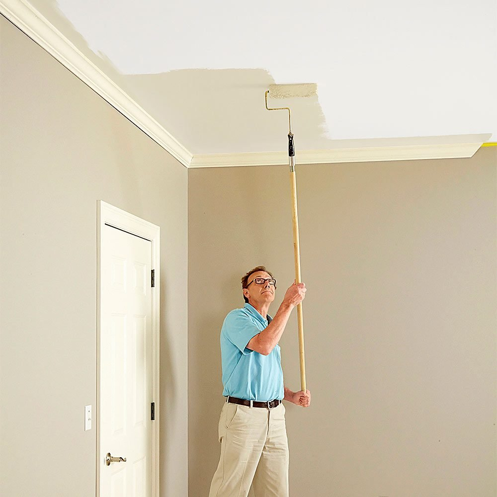 How To Paint Ceilings Colour Shades Lighter Than Wall