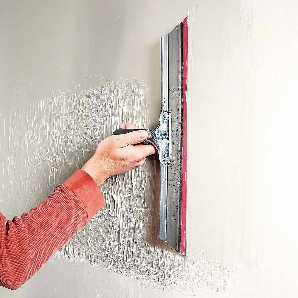 Skim-Coat Bad Walls for Darker Colors