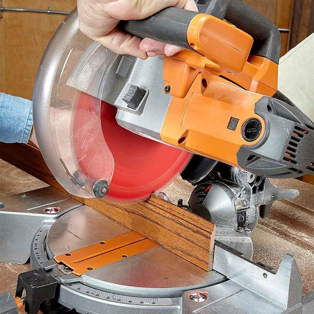 Make Clean, Safe Miter Saw Cuts