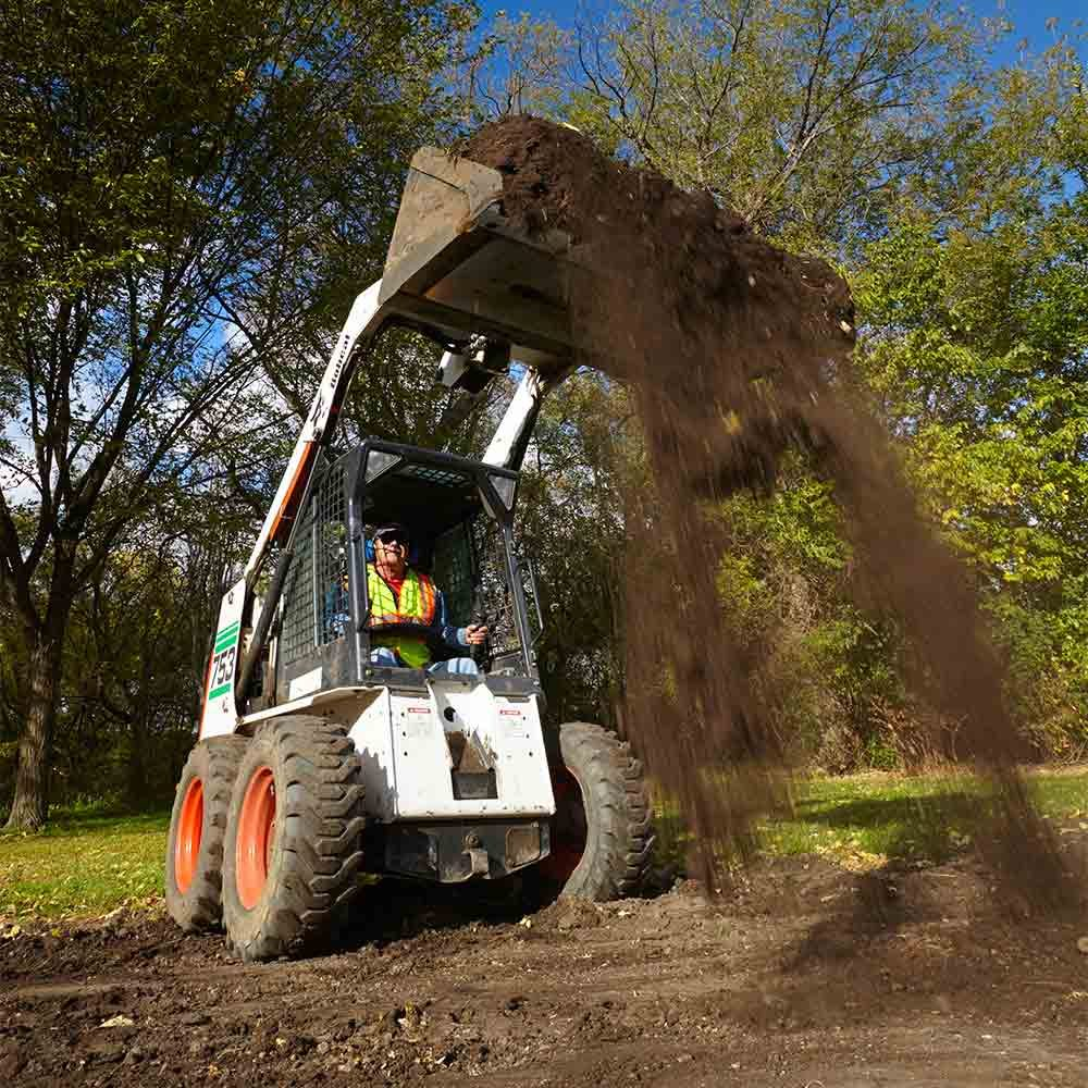 Rent a Skid Steer or Hire a Pro?