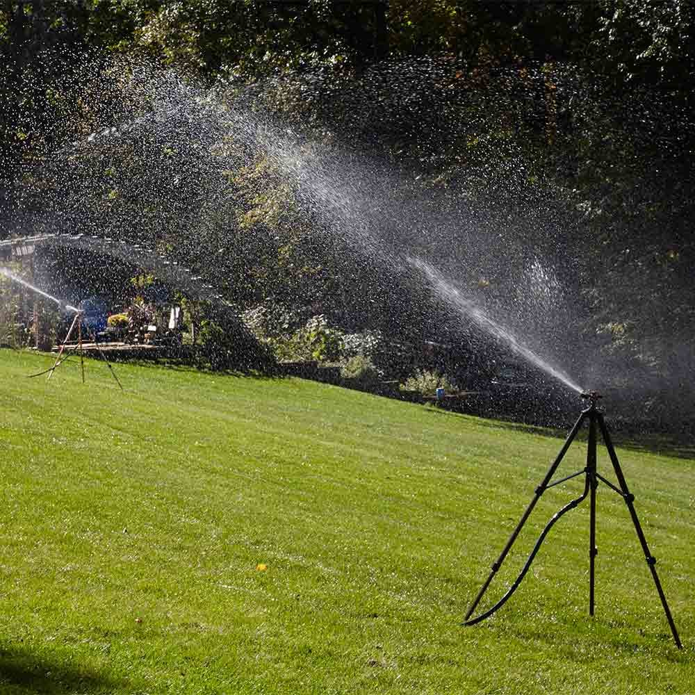 Run All Sprinklers at Once When Using Well Water