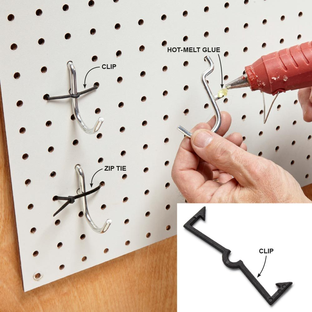 Organize Anything with Pegboard: 11 Ideas and Tips | The Family ...
