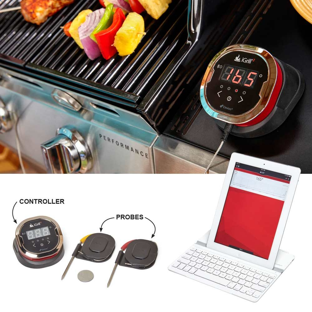 Monitor Your Grill From Your Smartphone or Tablet