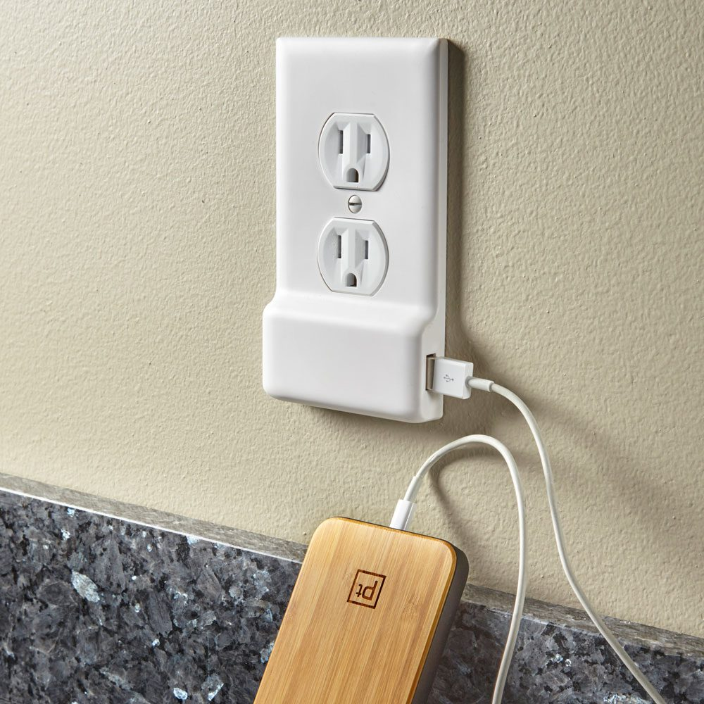 Snap-On USB Outlets