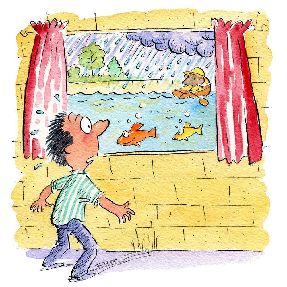 Keep Window Wells Clean or Risk a Broken Window and Wet Basement