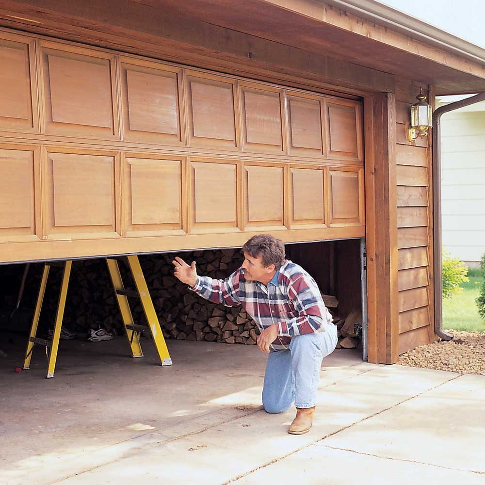 Check Garage Door Balance or Wreck Your Opener