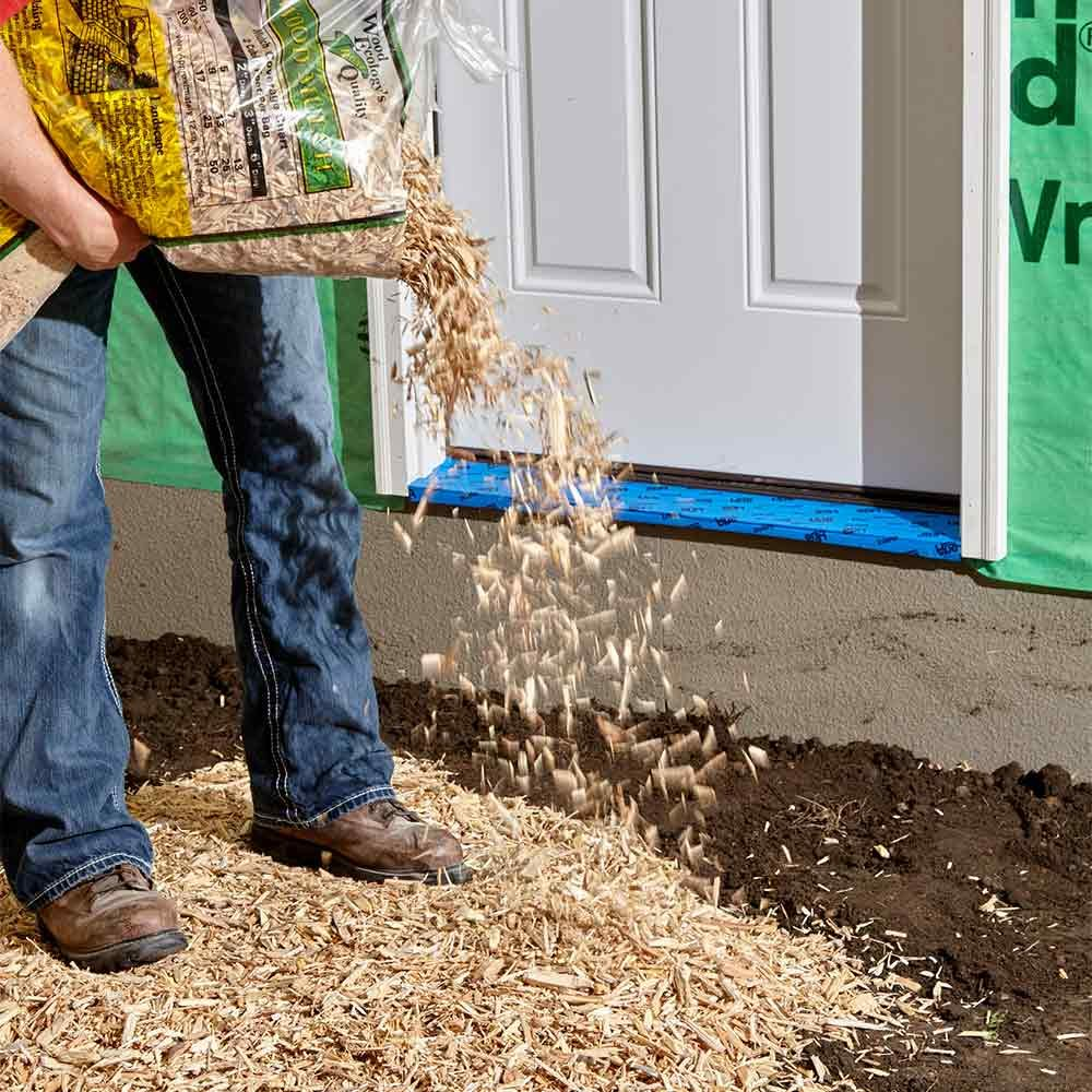 Lay Down a Wood Chip Path