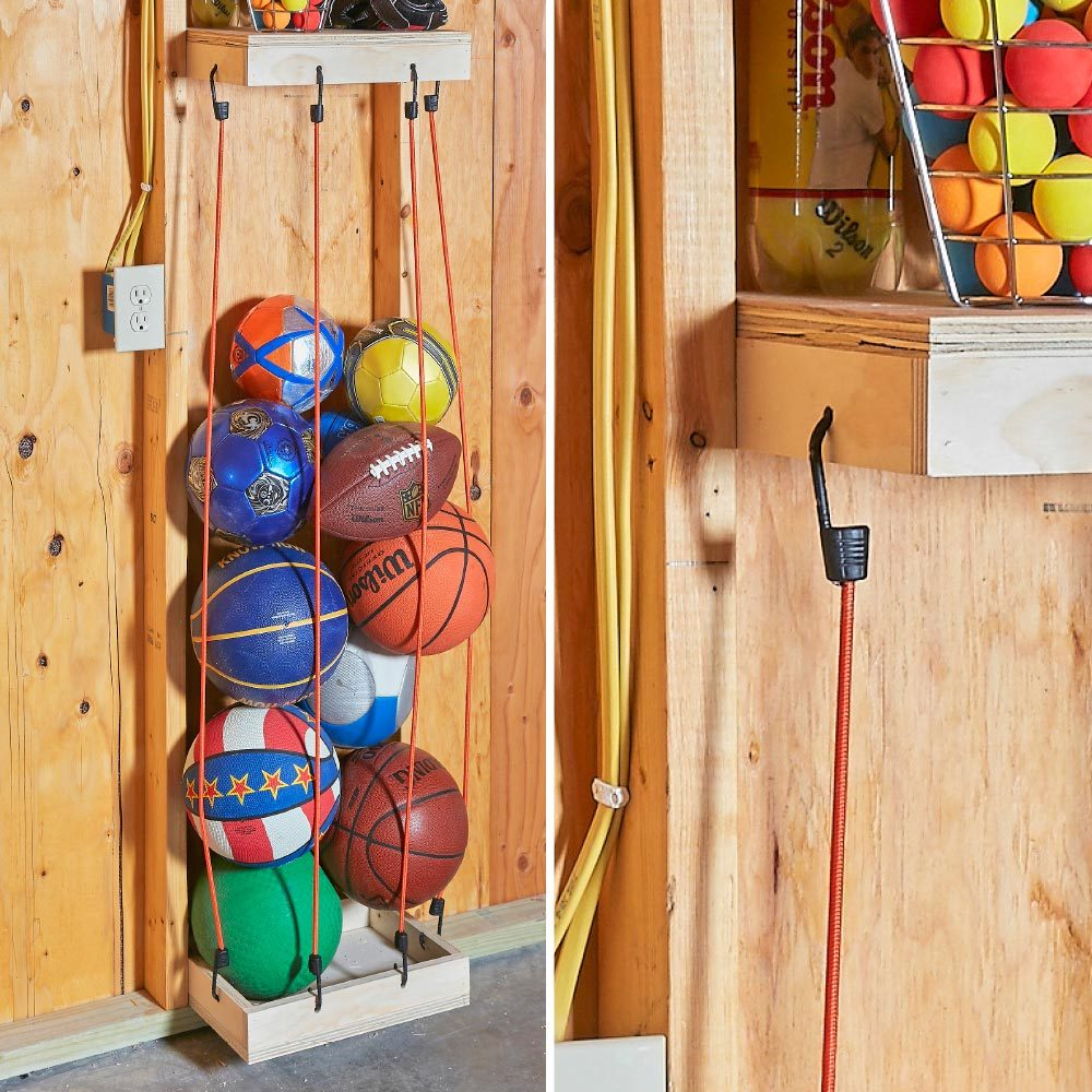 Bungee Cord Ball Tower