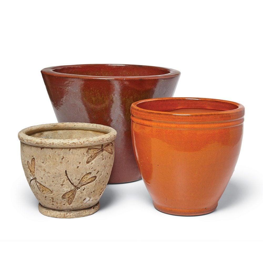 Empty Flowerpots or They Could Break