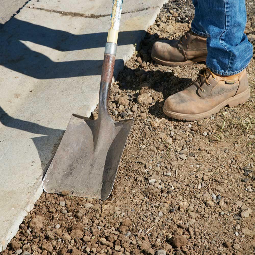 Lower the Grade Near Curbs and Sidewalks