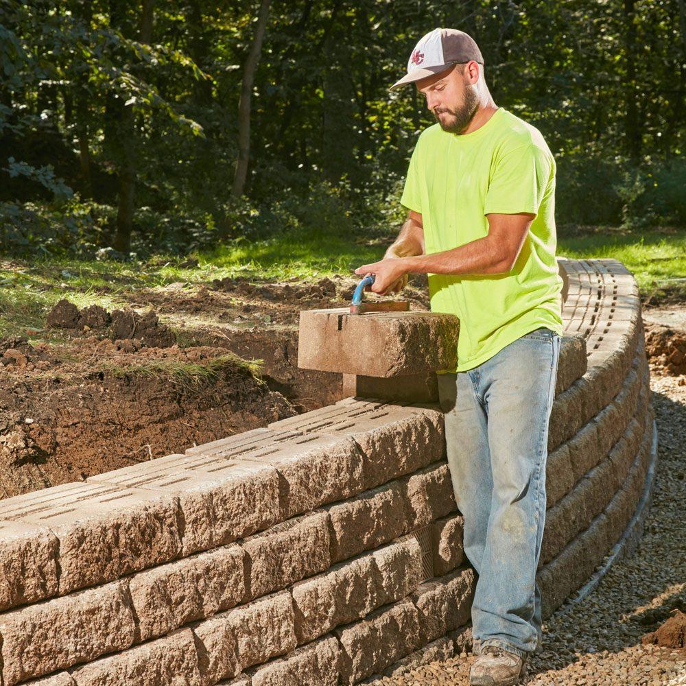 Cheap Used Tires Near Me >> Build a Long-Lasting Block Retaining Wall | The Family Handyman