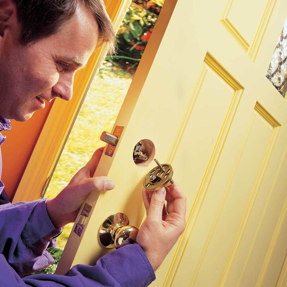 Install Dead Bolt Locks