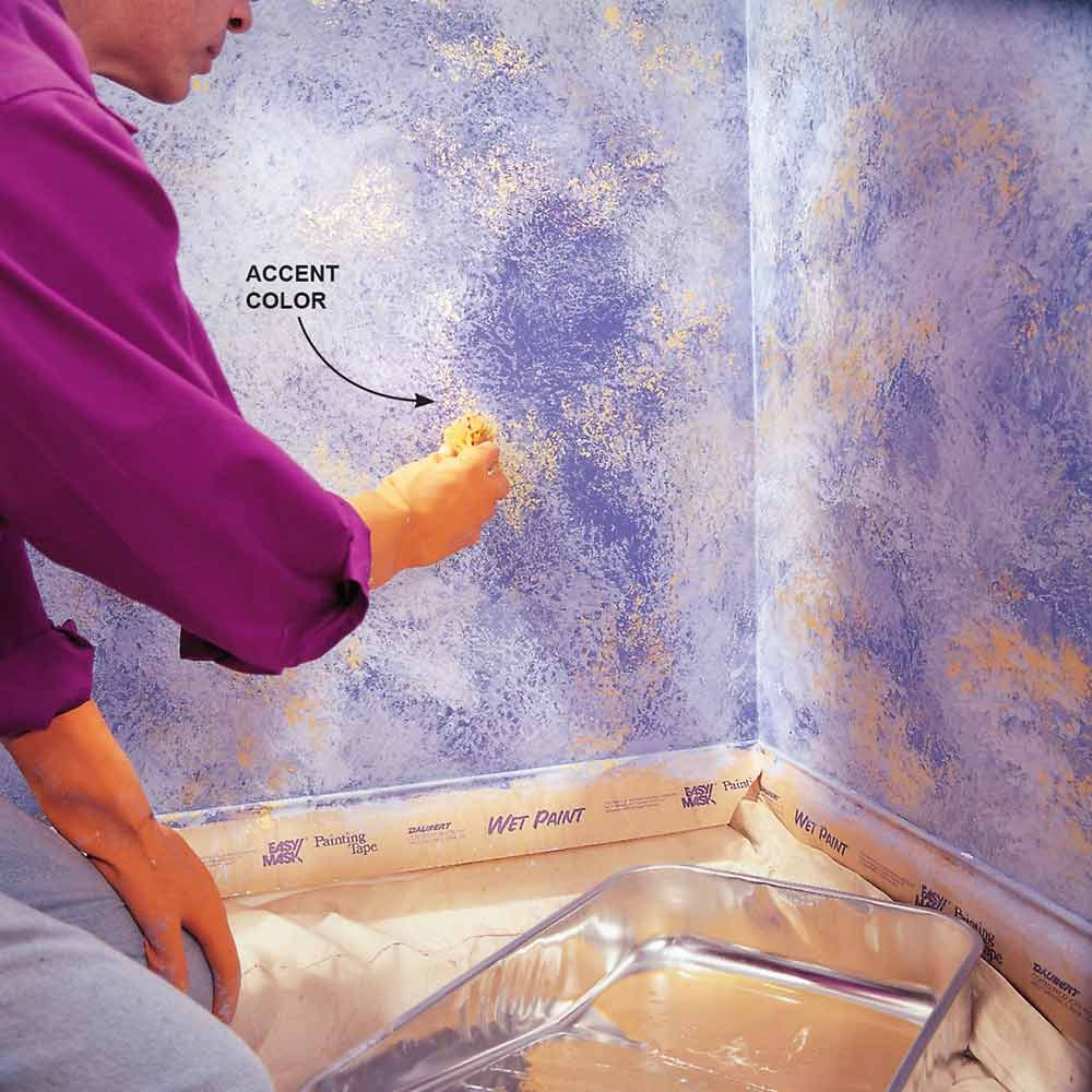 Sponge Painting Design Ideas For Bathroom ~ Top tips for choosing paint colors the family handyman