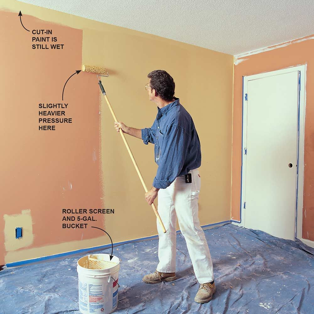 Use This Pro Wall Painting Technique