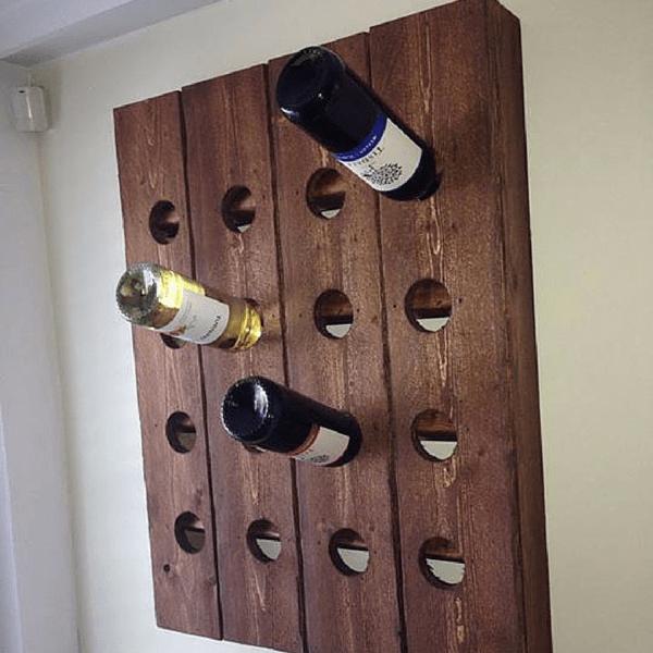 $12 Wall Wine Storage