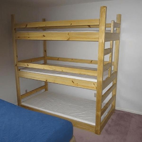 Triple Decker Bunk Bed