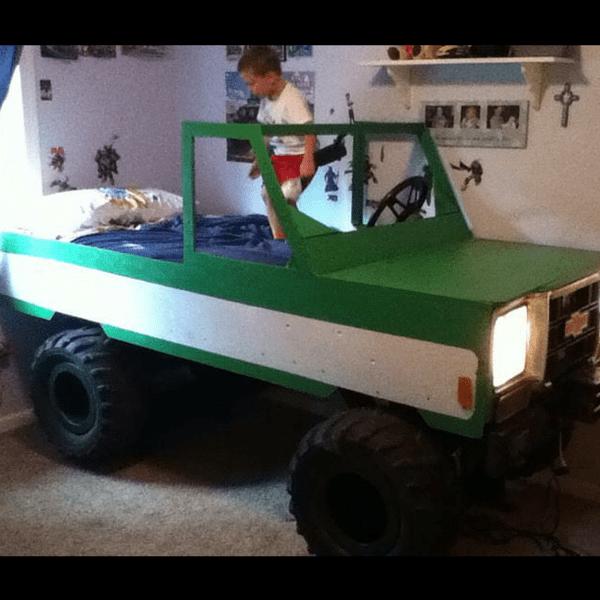 Mini Pickup Truck Bed for Kids