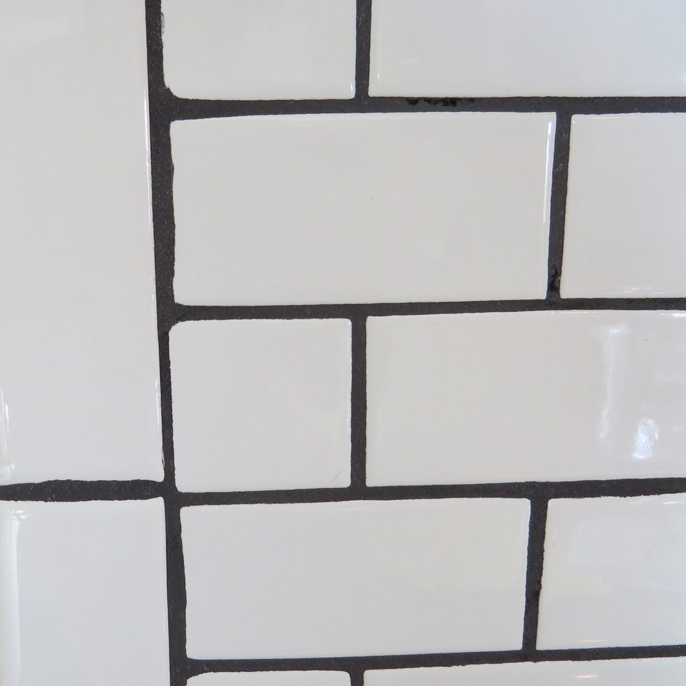 Don't: Choose a High-Contrast Grout Color